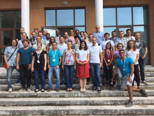 The participants at the ISSAOS international training school