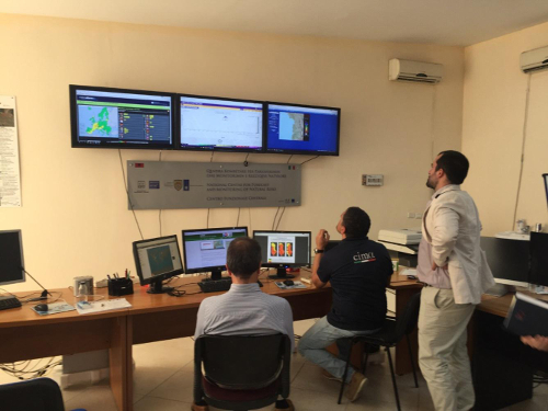 The monitoring of ACRONET data transmission at IGEWE premises