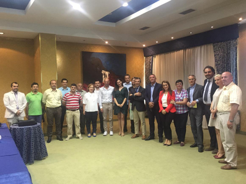 The participants at the stakeholders workshop held in Tirana on 20 July 2016