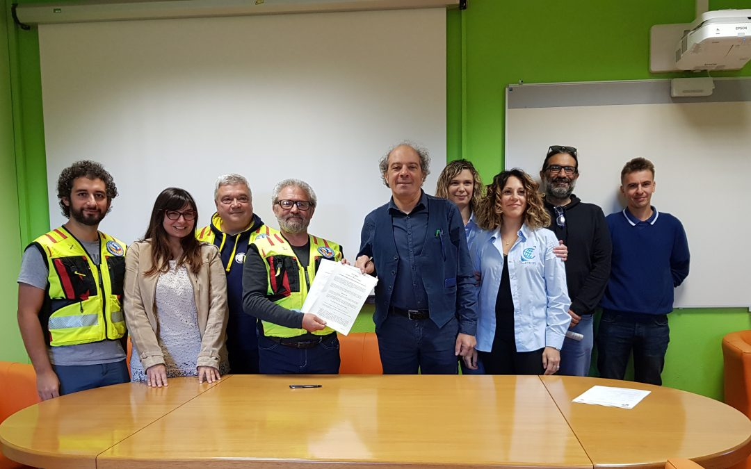 Accordo tra CETEMPS e GEOLAB per progetti a supporto di attività di protezione civile