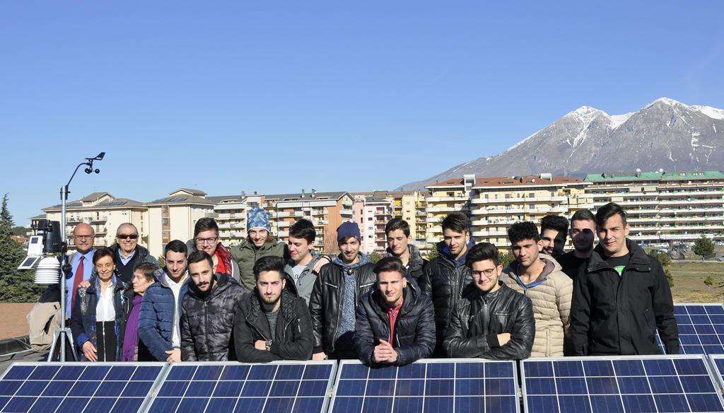 """Il CETEMPS firma Protocollo d'Intesa con l'IIS """"E. Majorana"""" di Avezzano"""