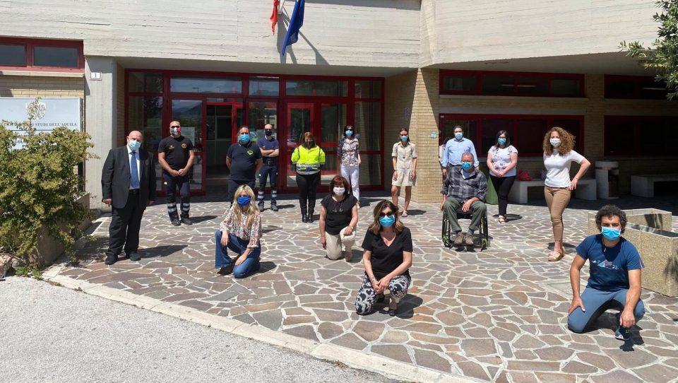 #IONONRESTOACASA: LARES Abruzzo e il benessere emotivo dei volontari di Protezione Civile.