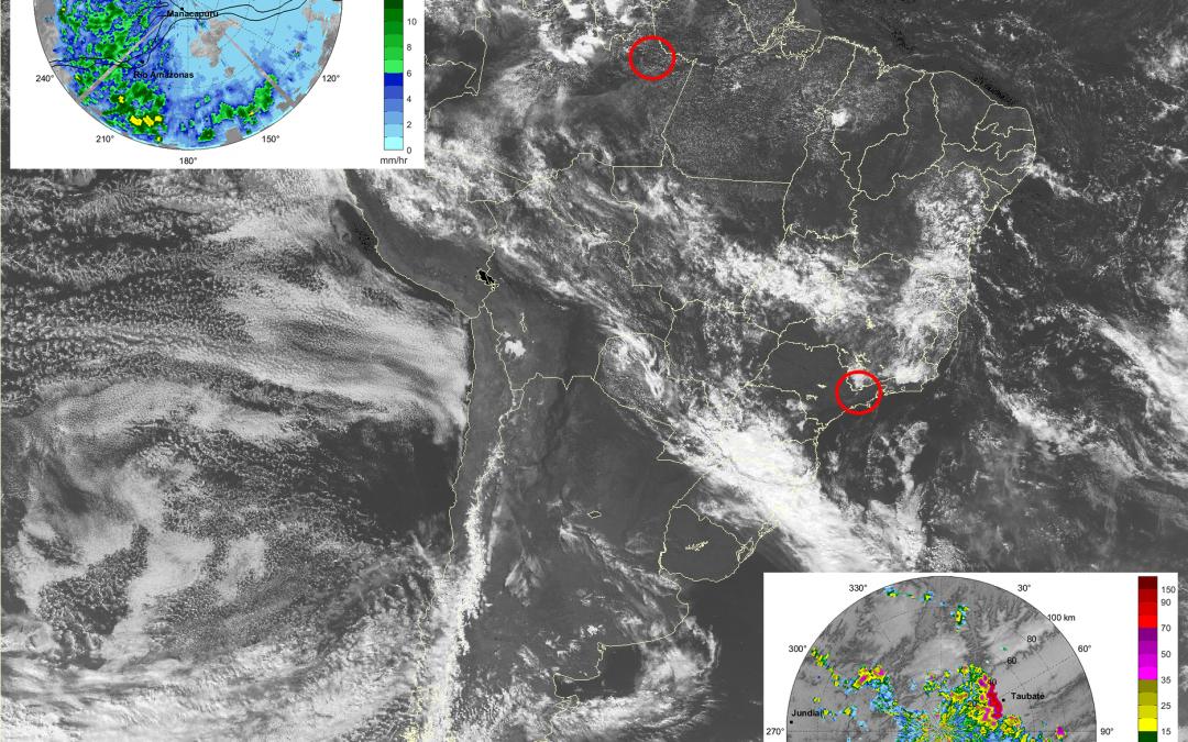 Dati satellitari di precipitazione sul Brasile a confronto con il Radar: la campagna CHUVA