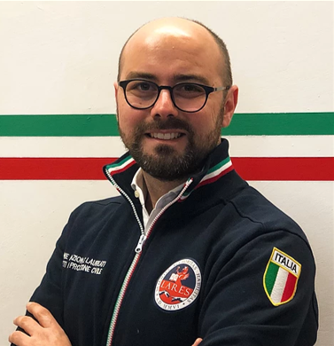 """Saverio Romeo (LARES): """"LARES Italia e le sue funzioni in ambito di Protezione Civile"""""""