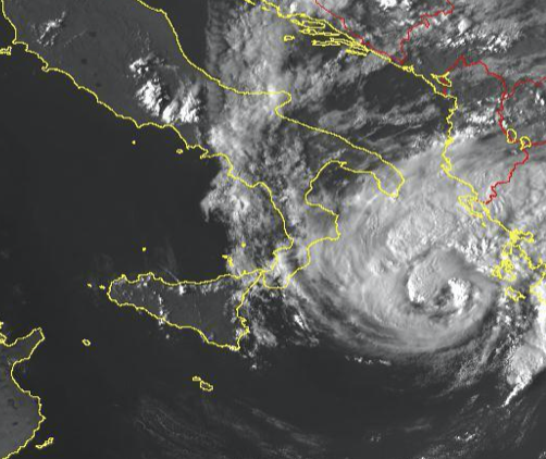 Un altro ciclone mediterraneo sul Mar Ionio, Antonio Ricchi del CETEMPS ne parla in un'intervista su Repubblica