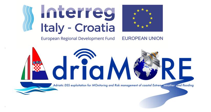 Al via il progetto europeo AdriaMORE per la gestione e mitigazione del rischio idro-meteo-marino nella regione adriatica italo-croata