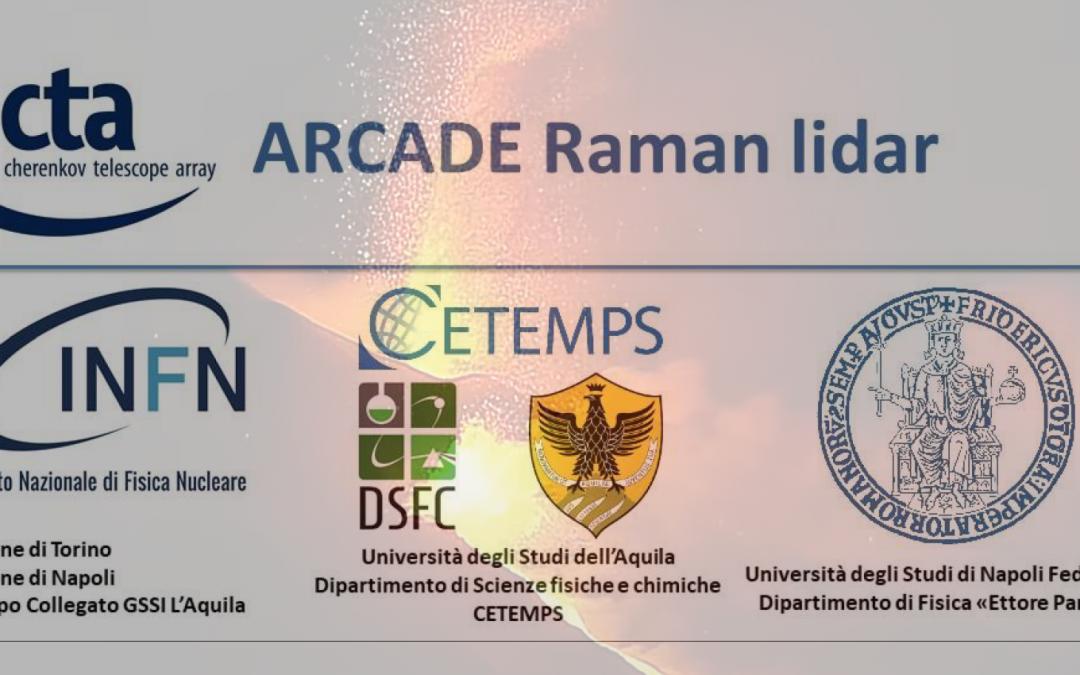 Osservazioni del lidar Raman effettuate in concomitanza dell'eruzione del vulcano Cumbre Vieja