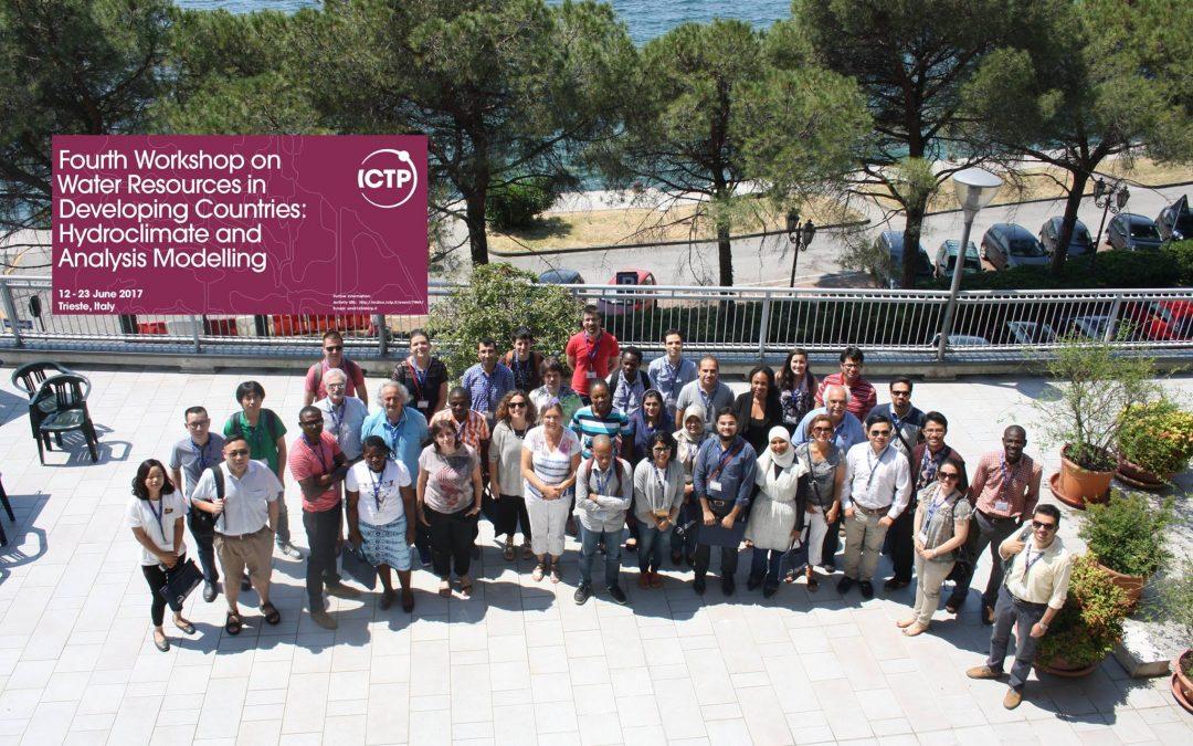 Il modello idrologico del CETEMPS protagonista alla Scuola dell'ICTP di Trieste