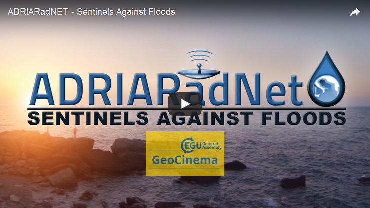"Il CETEMPS all'EGU anche nella sezione GeoCINEMA con il video ""ADRIARadNET – Sentinels Against Floods"""