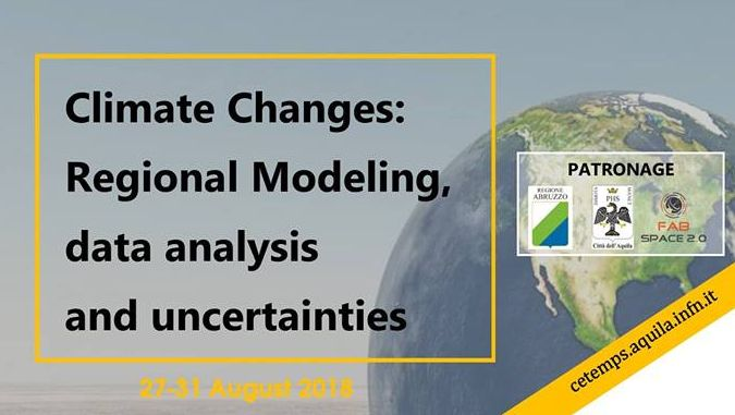 "Registration open for ISSAOS 2018 Summer School: ""Climate changes: regional modeling, data analysis and uncertainties"""