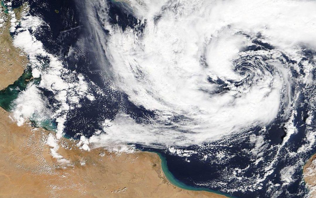 Tempesta Similtropicale (TLC o Medicane) in atto nel bacino del Mediterraneo