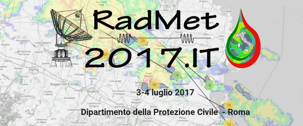 Il CETEMPS promuove il Secondo Convegno Nazionale di Radar Meteorologia, Roma 3-4 Luglio 2017