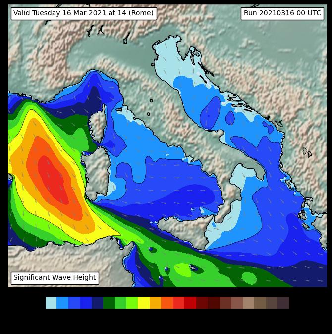 Operativo il nuovo modello di previsione del moto ondoso al CETEMPS